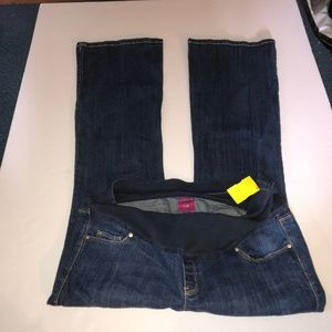 OLD NAVY Flare Jeans Size 8 Womens Blue